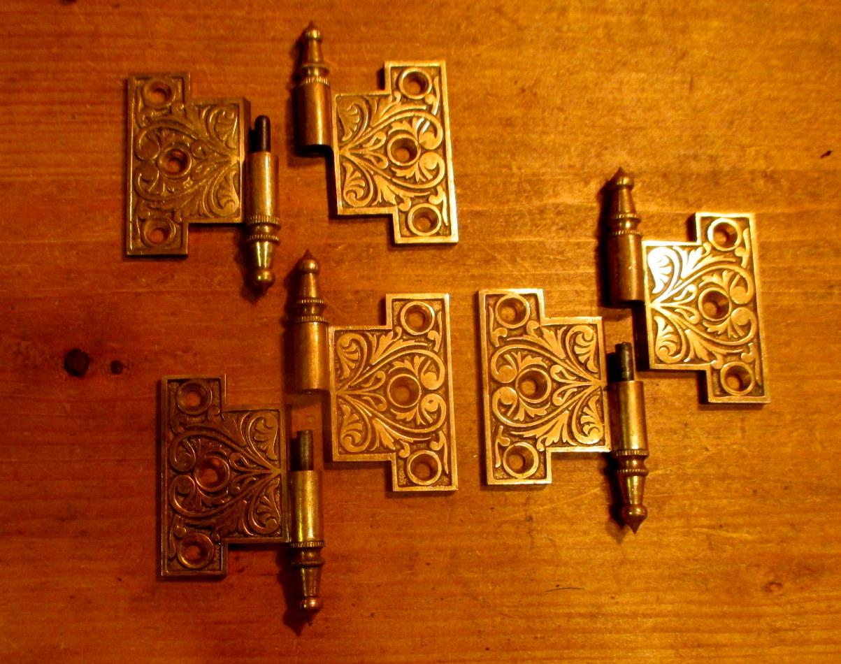 Circa 1875 Bronze Interior Shutter Hinge Cabinet Hinge Hardware Ish 880
