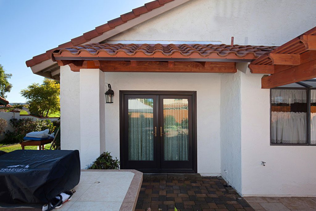 wood patio cover home improvements