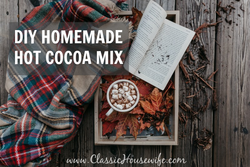 DIY Homemade Hot Chocolate Mix Recipe