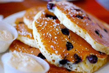 blueberry buttermilk pancake recipe