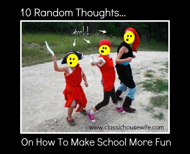 How to Make Homeschool More Fun