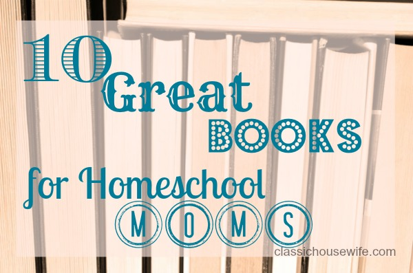 homeschool-mom-books