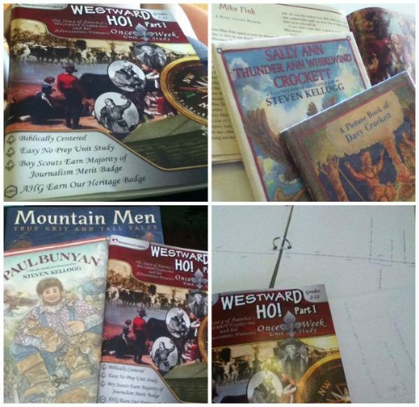 westward ho homeschool legacy collage