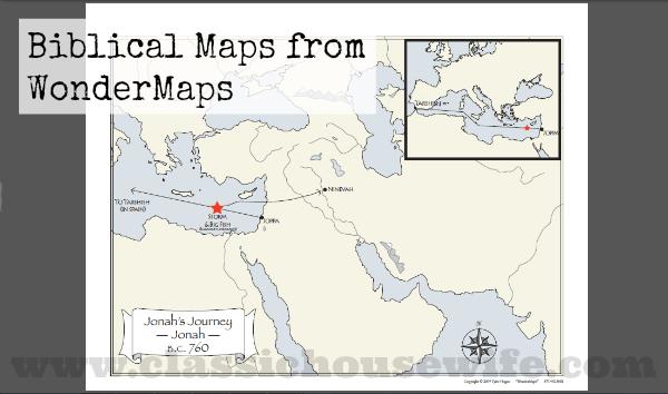 Biblical Maps from WonderMaps