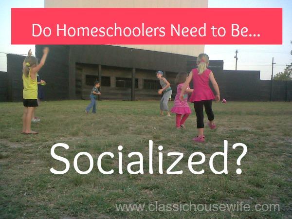 homeschool-socialized