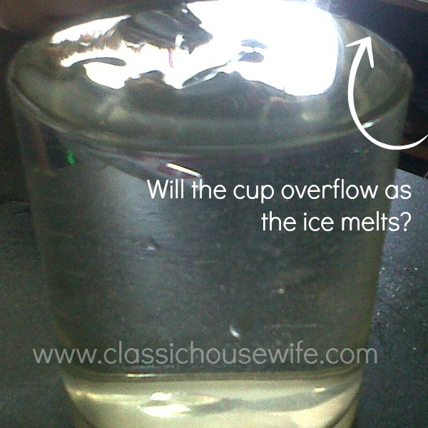 science water experiment