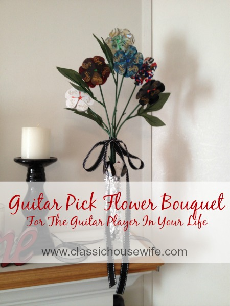 Guitar Pick Bouquet