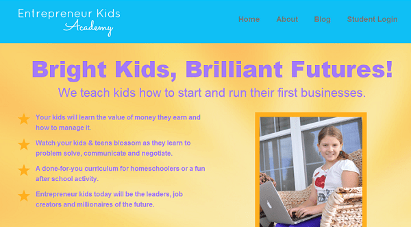 Young Entrepreneur Kids Business