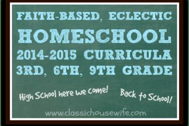 faith-based eclectic curriculum