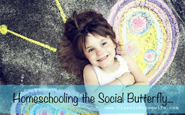 Homeschooling Extrovert Social Butterfly
