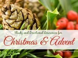 Study Devotional Resources Christmas Advent