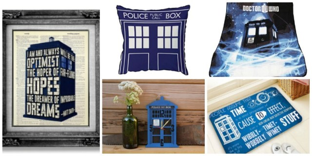 Doctor Who Gifts for the Home