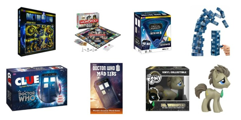Doctor Who Games Toys