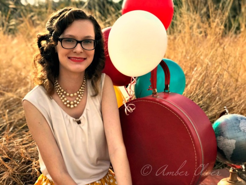Homeschool Senior Portrait Vintage