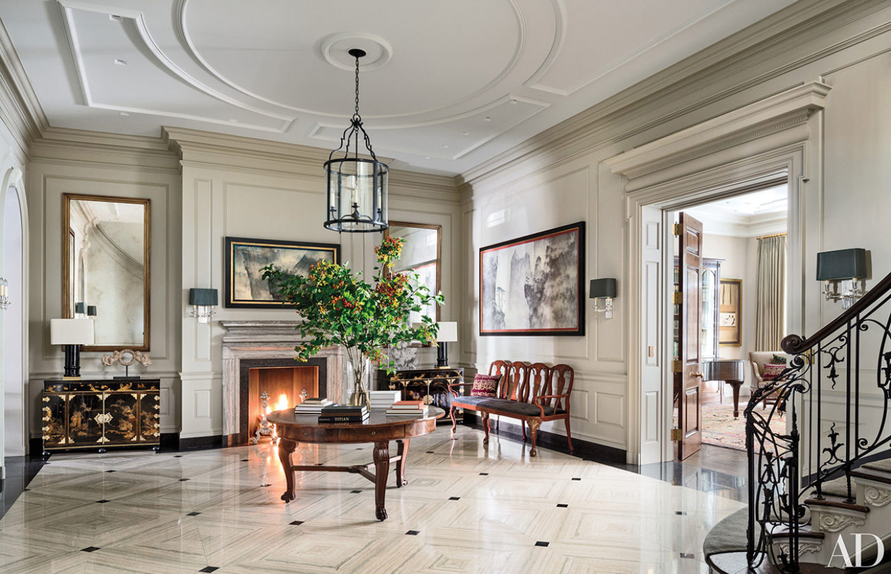 Classicism Abounds in the Architectural Digest 100