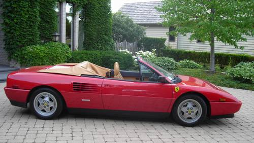 1989 ferrari mondial t cabriolet classic italian cars for sale. Black Bedroom Furniture Sets. Home Design Ideas