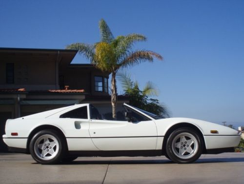 Ron Tonkin Gran Turismo >> White on Red 1987 Ferrari 328 GTS For Sale | Classic ...