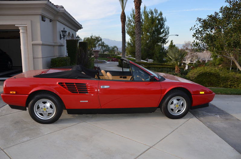 1986 ferrari mondial 3 2 cabriolet classic italian cars for sale. Cars Review. Best American Auto & Cars Review