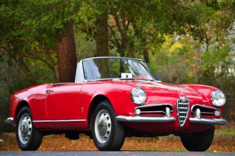 1962 alfa romeo giulietta spider | classic italian cars for sale