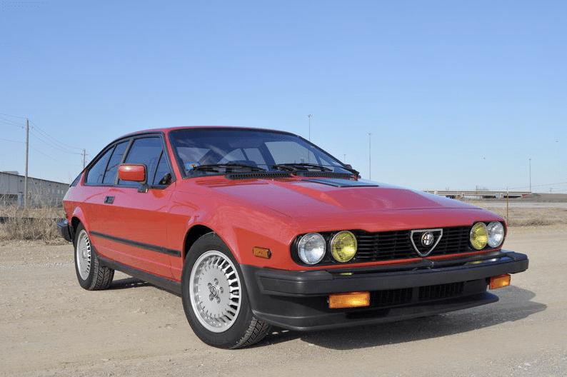 1986 Alfa Romeo GTV6 2.5   Classic Italian Cars For Sale