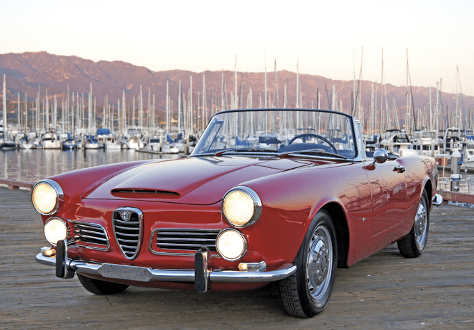 1966 alfa romeo spider 2600 classic italian cars for sale. Black Bedroom Furniture Sets. Home Design Ideas