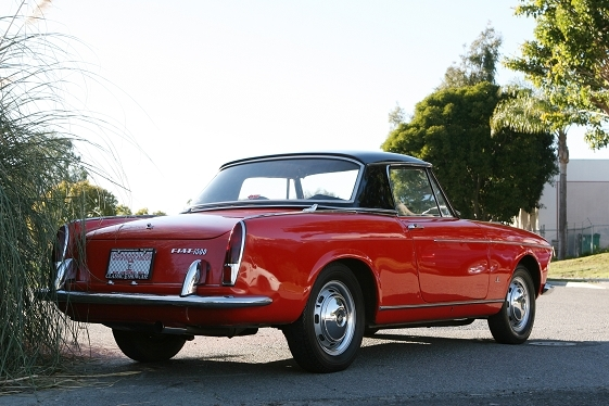 1964 fiat 1500 cabriolet classic italian cars for sale. Black Bedroom Furniture Sets. Home Design Ideas