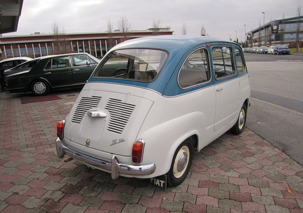 1958 fiat 600 multipla classic italian cars for sale. Black Bedroom Furniture Sets. Home Design Ideas