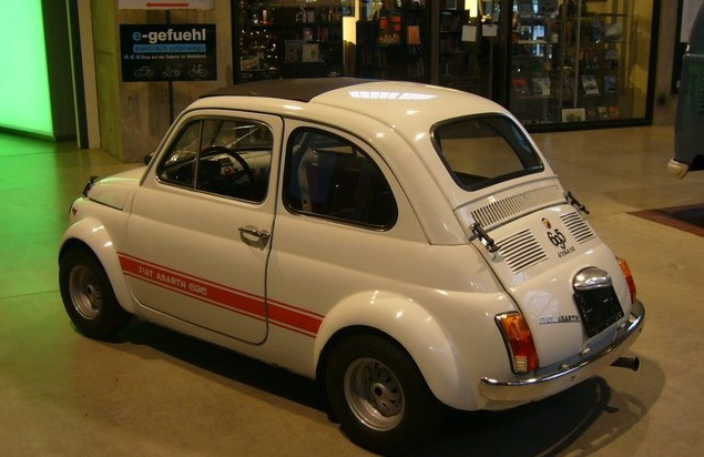 1975 fiat 500 abarth 695 ss clone classic italian cars for sale. Black Bedroom Furniture Sets. Home Design Ideas