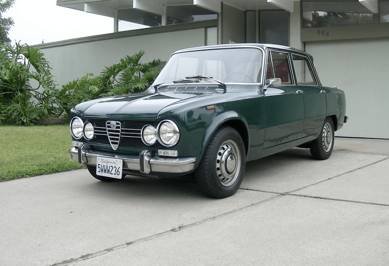 1970 alfa romeo giulia 1600 super classic italian cars for sale. Black Bedroom Furniture Sets. Home Design Ideas