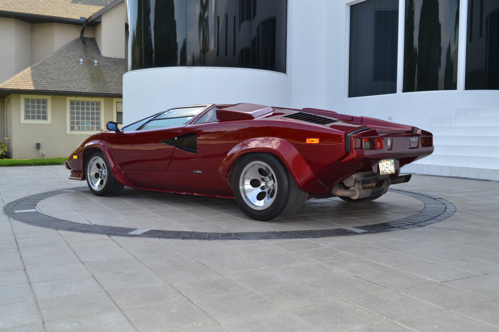 1985 lamborghini countach 5000s classic italian cars for sale. Black Bedroom Furniture Sets. Home Design Ideas