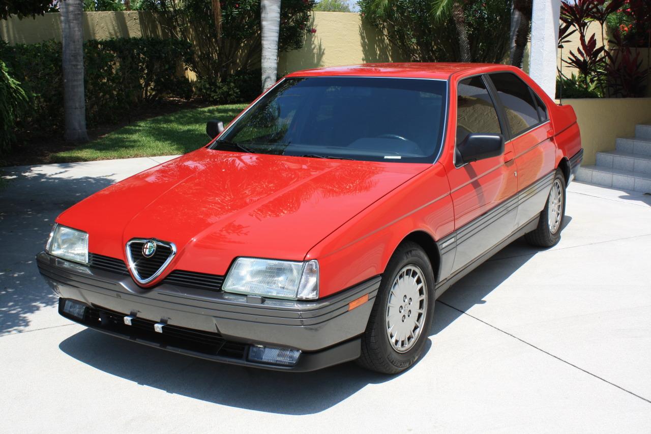 1992 alfa romeo 164l classic italian cars for sale. Black Bedroom Furniture Sets. Home Design Ideas