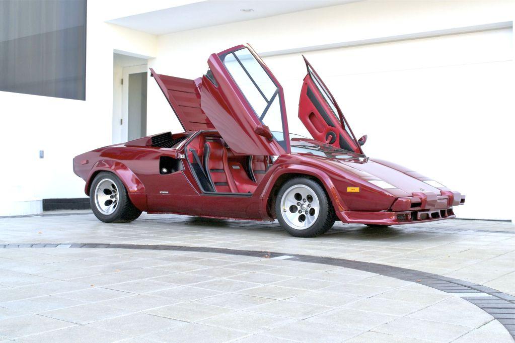 1985 lamborghini countach 5000s classic italian cars for. Black Bedroom Furniture Sets. Home Design Ideas