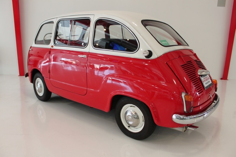 1962 fiat 600 multipla classic italian cars for sale. Black Bedroom Furniture Sets. Home Design Ideas
