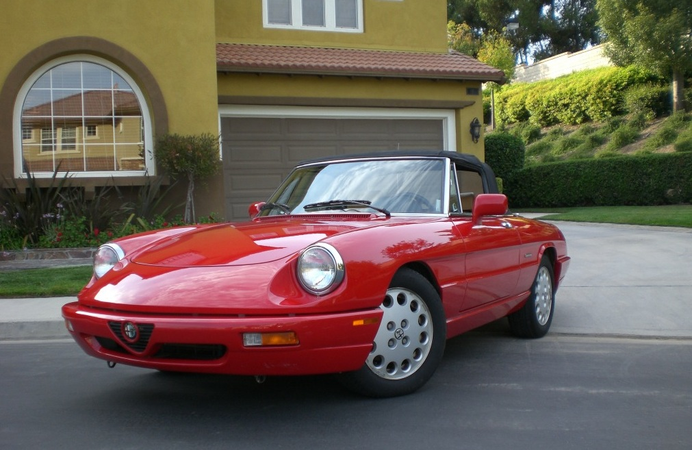1991 Alfa Romeo Spider Veloce | Classic Italian Cars For Sale