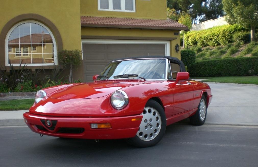 1991 alfa romeo spider veloce classic italian cars for sale. Black Bedroom Furniture Sets. Home Design Ideas