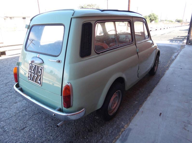 1960 fiat 500 giardinera classic italian cars for sale. Black Bedroom Furniture Sets. Home Design Ideas