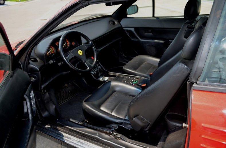 1992 ferrari mondial valeo t cabriolet classic italian cars for sale. Black Bedroom Furniture Sets. Home Design Ideas