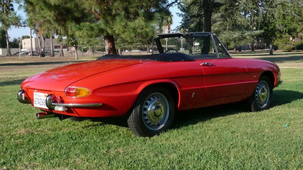 1967 alfa romeo duetto spider classic italian cars for sale. Black Bedroom Furniture Sets. Home Design Ideas