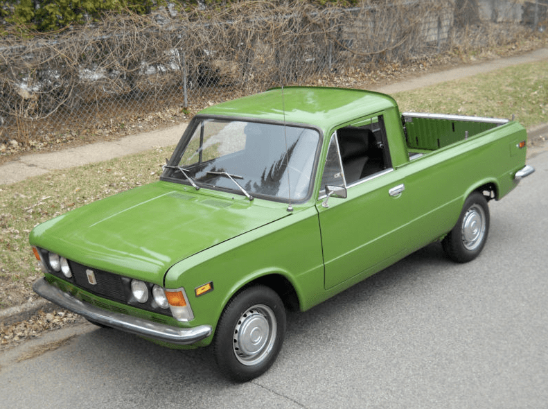 1976 polski fiat 125p pickup classic italian cars for sale. Black Bedroom Furniture Sets. Home Design Ideas