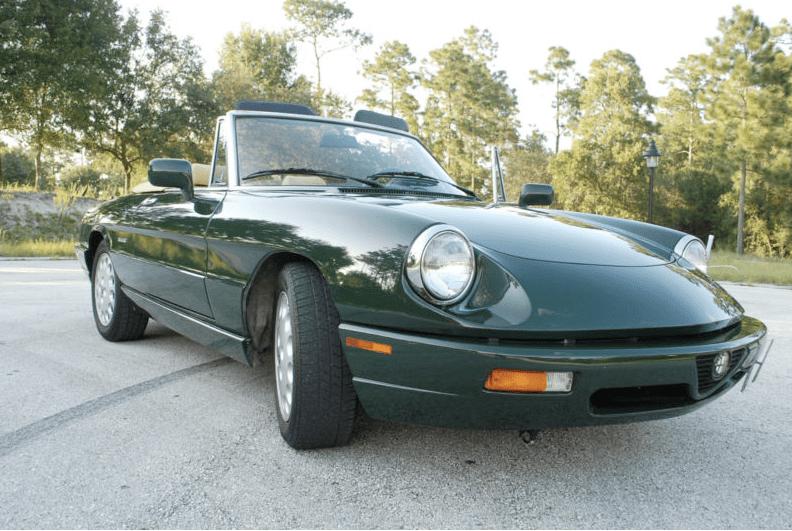 1993 alfa romeo spider veloce classic italian cars for sale. Black Bedroom Furniture Sets. Home Design Ideas