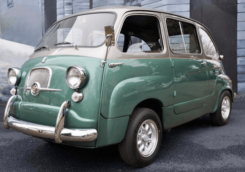 1959 fiat multipla classic italian cars for sale. Black Bedroom Furniture Sets. Home Design Ideas