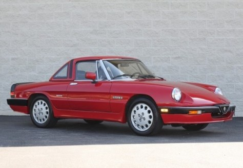 Alfa Romeo Spider Quadrifoglio Classic Italian Cars For Sale - Alfa romeo spider hardtop for sale