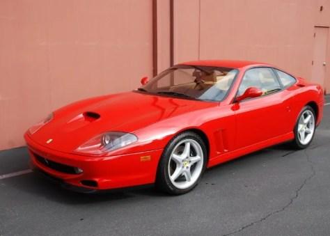 1998 Ferrari F550 Maranello Classic Italian Cars For Sale