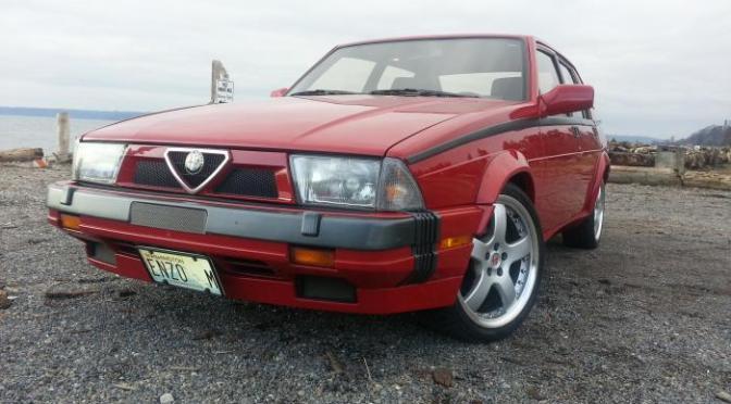1988 Alfa Romeo Milano Verde – REVISIT