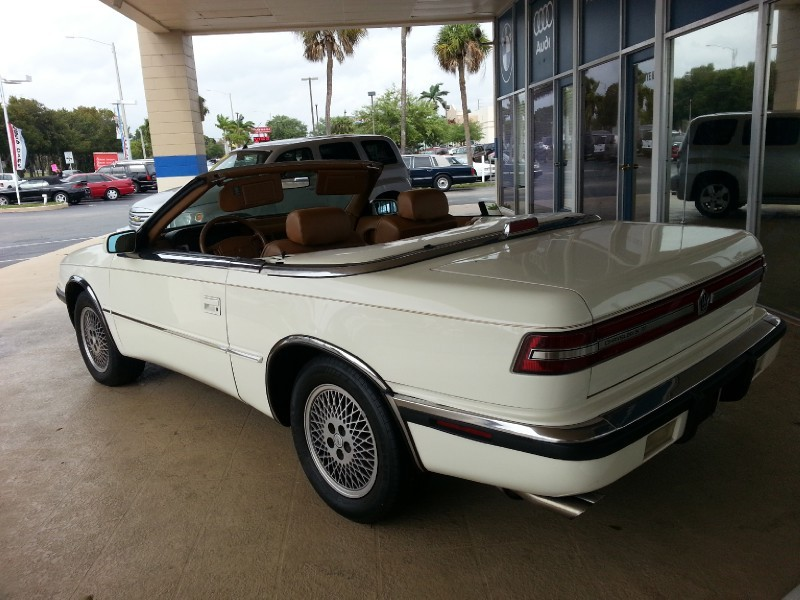 1991 chrysler tc by maserati classic italian cars for sale. Cars Review. Best American Auto & Cars Review