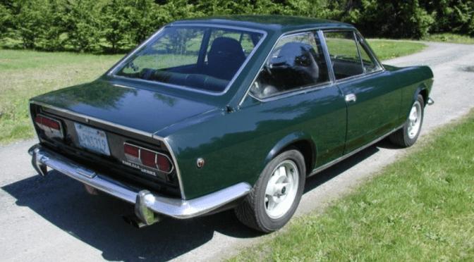 1968 fiat 124 sport coupe classic italian cars for sale. Black Bedroom Furniture Sets. Home Design Ideas
