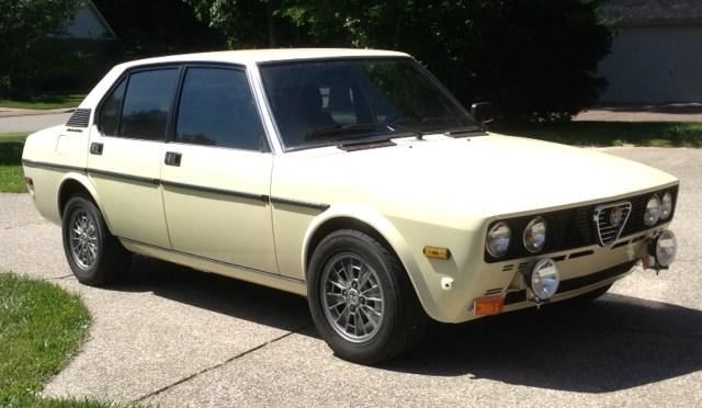 1978 Alfa Romeo Sport Sedan