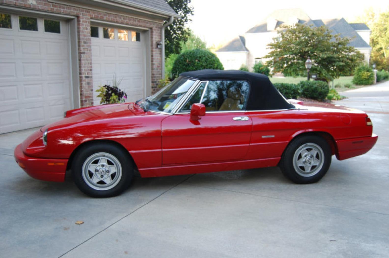1991 Alfa Romeo Spider | Classic Italian Cars For Sale