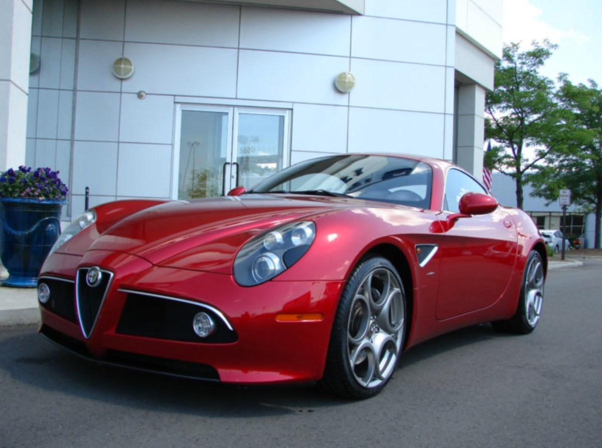 2008 alfa romeo 8c competizione classic italian cars for sale. Black Bedroom Furniture Sets. Home Design Ideas