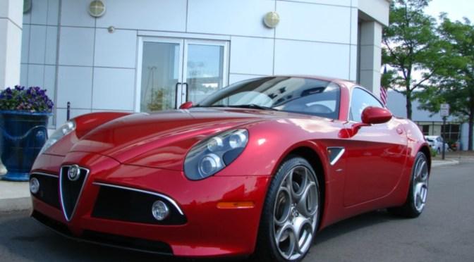 2008 Alfa Romeo 8C Competizione | Clic Italian Cars For Sale